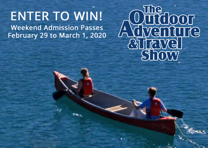 Enter to Win – Vancouver Outdoor Adventure & Travel Show